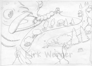 Step #1: Pencil Sketch