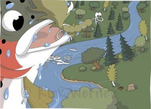 Step #4: Faded colors in Adobe Illustrator