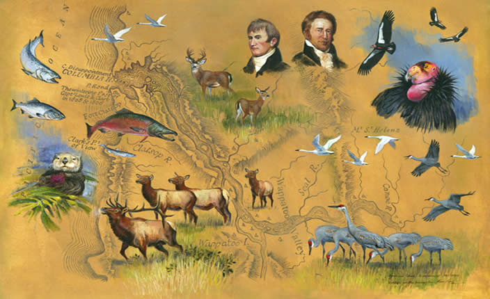 Timeline of the Lewis and Clark Expedition